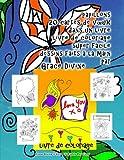 papillons 20 cartes de vœux dans un livre livre de coloriage super facile dessins faits à la main par Grace Divine
