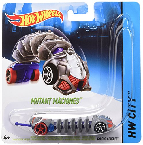 Mattel BBY78 - Hot Wheels City Mutant Machines Fahrzeuge Sortiment