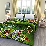 eCraftIndia Ben 10 Kid's Single Bed Reversible AC Blanket