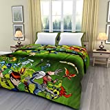 eCraftIndia Ben 10 Kids Single Bed Rever...