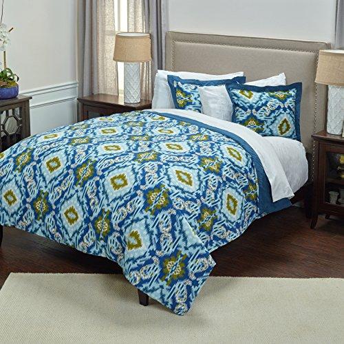 Rizzy Home Tröster Set, blau, King -