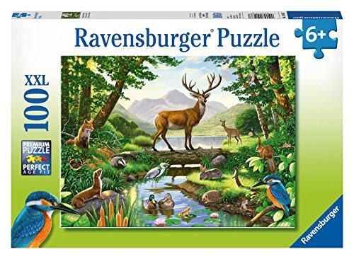Preisvergleich Produktbild Ravensburger 10568 - Woodland Harmony - 100 Teile Kinderpuzzle mit extragroßen Teilen