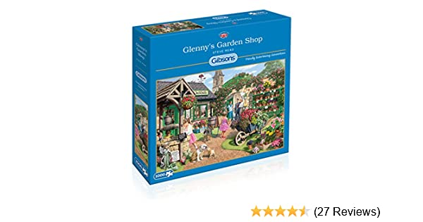a28c04749150 Gibsons Glenny's Garden Shop Jigsaw Puzzle, 1000 piece: Amazon.co.uk: Toys  & Games
