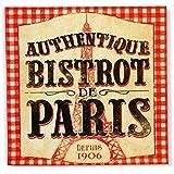 Natives Bistrot de Paris servilletas de papel 3capas, tejido, multicolor (33x 33cm)