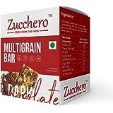 Zucchero Gourmet Antioxidant and Flat Tummies Dark Chocolate Granola Bar - Pack of 10