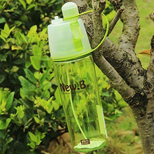 New sport concept spray water bottle