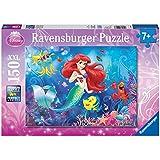 Ravensburger - 10003 - Puzzle Enfant Classique Princesses Disney - Ariel - 150 Pièces XXL