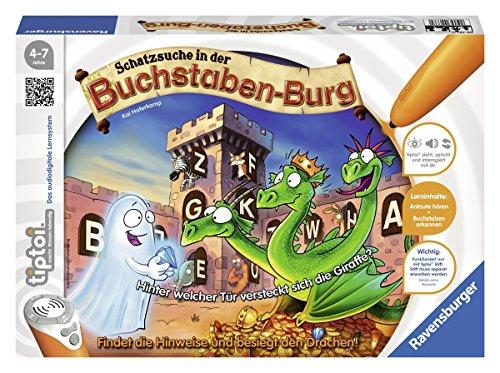 Preisvergleich Produktbild Ravensburger 00737 - tiptoi Spiel Schatzsuche in der Buchstabenburg
