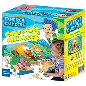 Bubble guppies floor puzzle 46 pieces jeux - Jeux bubble guppies ...