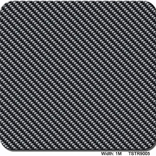 Wassertransferdruckfilm, hydrografischer Film - Hydro-Dipping-Film-Striped Plaid-Muster - 0,5 Meter Mehrfarben optional hydrographischer Tauchfilm (Color : TSTR9005, Size : 1mx20m) -