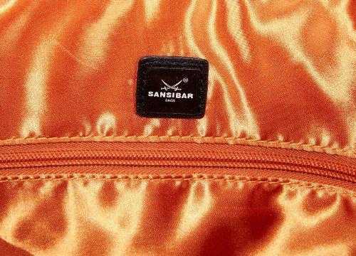 Sansibar Arnon B-931 AN 01, Damen Schultertaschen 31x36x19 cm (B x H x T) Orange (pumpkin)