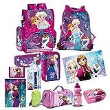 Frozen Die Eiskönigin 15 Teile Set Schulranzen Ranzen Federmappe Tasche Tornister Mit Sticker Von Kids4shop