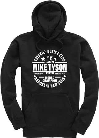 Iron Mike Tyson Catskill Boxing Club Premium Men's Black Hoodie/Hoody/Hooded Top