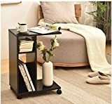WSTECHCO Tavolino da salotto per soggiorno e ufficio, da usare accanto al divano o come tavolino da caffè, di facile montaggio