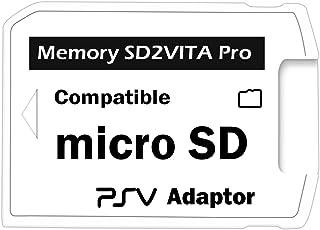 Adattatore SD2VITA Pro 3.0per scheda Micro SD di PS Vita 3.60Henkaku, copertura completa