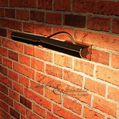Clásica Lámpara de Pared para Cuadros/Iluminación Interior IP20 / Cromo Satinado 3641n