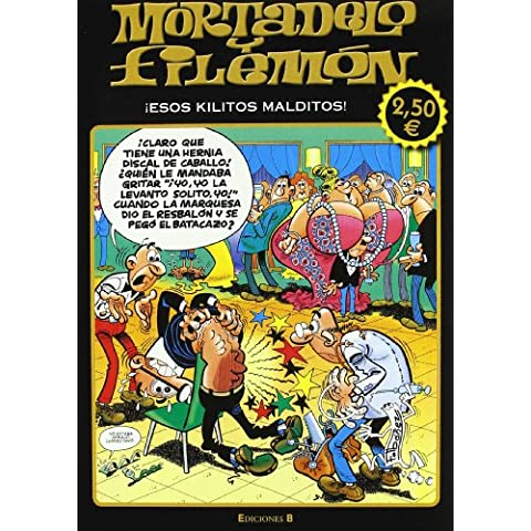 Mortadelo y Filemón: esos kilitos malditos (OLE MORTADELO)