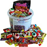 Halloween Party Bucket con Halloween Dulces y Chocolate, 1kg