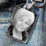 PAM ST. CLEMENT - Original Art Keyring #js001