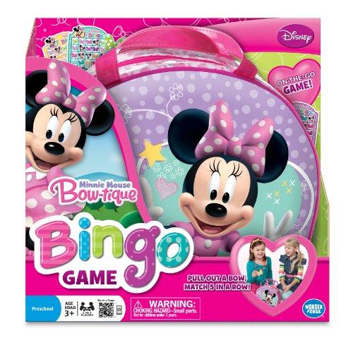 Jeu de société Minnie Mouse Bingo.