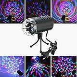 SOLMORE Disco RGB Stimme Aktiviert LED Lichteffekt Bühnenbeleuchtung Kristalleffekt Lampe