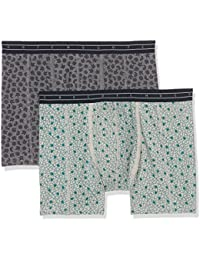 Scotch & Soda Men's All-Over Bedruckt Boxer Shorts pack of 2