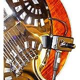 RECOGIDA TRICONE cuello cuadrado RESONATOR GUITARRA con cuello flexible MICRO - GOOSE por Myers Pastillas ~ verlo en acción ! Copiar y pegar: myerspickups.com