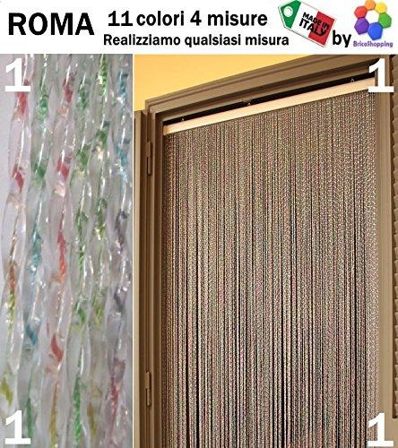 INSEKTENSCHUTZVORHANG AUS PVC, ROMA, 11FARBEN, 4GRÖSSEN, MADE IN ITALY von BricoShopping - cm 120x230h - (1) Multicolor