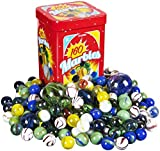 Kangaroo Marble Set - 160; Marbles Game, in a Tin Box