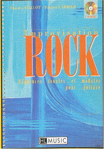 Improvisation rock avec 2 CD