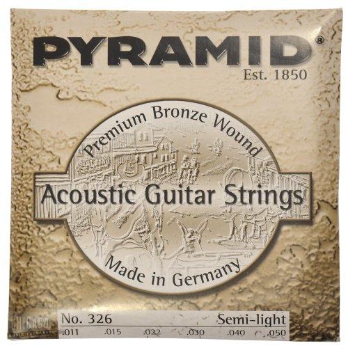 Pyramid Acoustic Guitar Premium Bronze SL