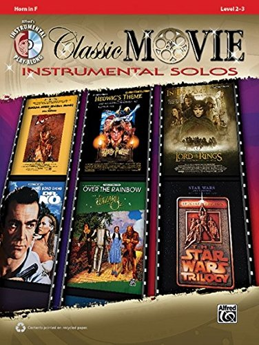 Classic Movie Instrumental Solos: Horn in F (incl. CD) (Pop Instrumental Solo Series)