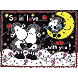 Ravensburger - Sheepworld - So in Love with You, 1000 Teile Puzzles