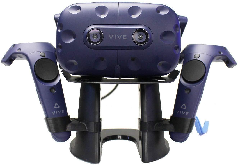 AFAITH Support VR, Stand Support d'affichage pour Casque et Station de Montage pour contrôleur pour Oculus Rift S/Oculus Quest Contrôleurs de Casque (VR Non Inclus)