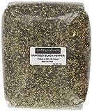 JustIngredients Essential Poivre noir concassé mouture 8 (poivre à steak) (Black Pepper - Cracked 8# (Steak Pepper)) 1kg