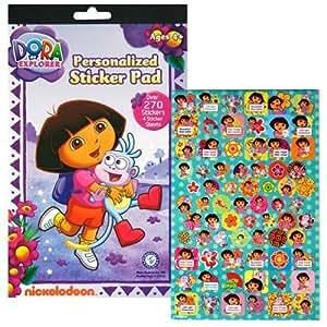Dora The Explorer Sticker Pad with Over 270 Stickers