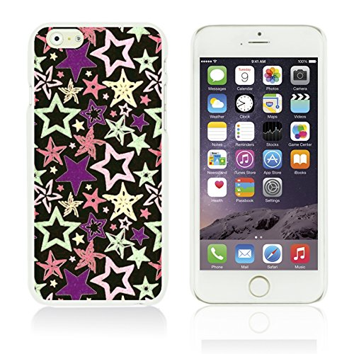 OBiDi - Funny Pattern Hardback Case / Housse pour Apple iPhone 6 Plus / 6S Plus (5.5)Smartphone - A TO Z Stars