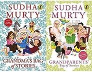 Grandmas Bag of Stories + Grandparents Bag of Stories (Set of 2 Books)