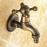 Kuha Excellent rapport qualité/prix carré Mono monobloc Baignoire Poignée Unique Lavabo Chrome Robinet mitigeur de salle de bain moderne, seul froide Robinets de salle de bain évier