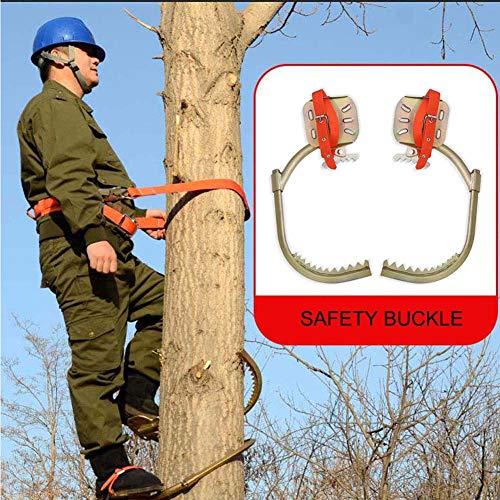 GNZY Tree Climbing Spikes Edelstahl Bäume Klettern Katzenklaue rutschfest Bäume Klettern Spikes Sicherheit Uverlässig Einfach Zu Verwenden,300Model
