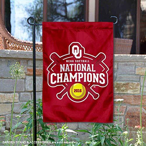 Oklahoma Sooners 2016Damen Softball Champions Garten Flagge -