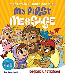 My First Message: A Devotional Bible for Kids (English Edition)