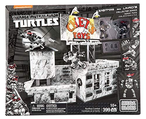 Mega Bloks - Tortues Ninja - Dpd80 - Teenage Mutant Ninja Turtles Eastman & Laird's Collector Series - Rooftop Combat Playset