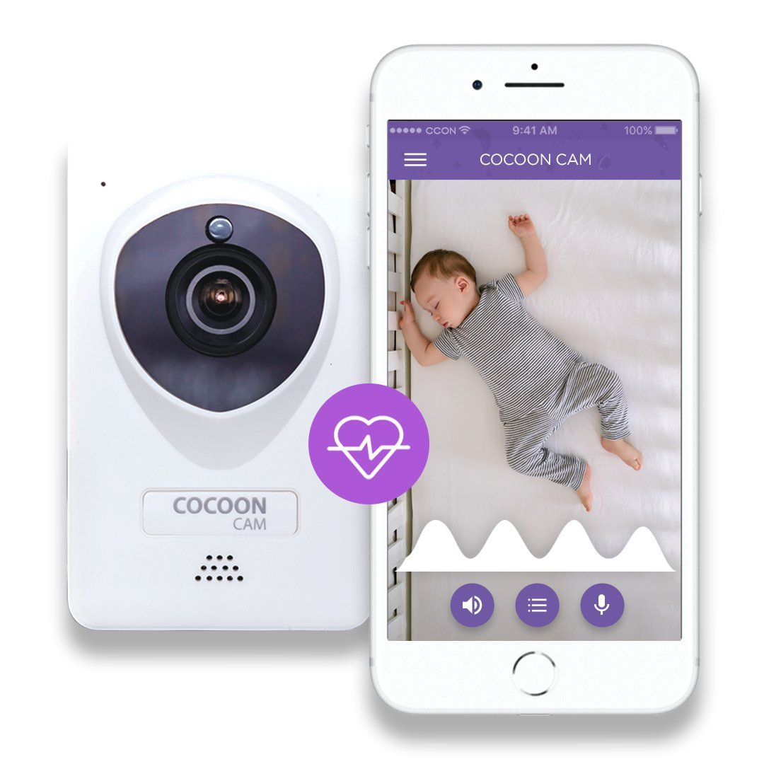 Cocoon Cam Plus Baby Monitor with Breathing Monitoring HD Camera