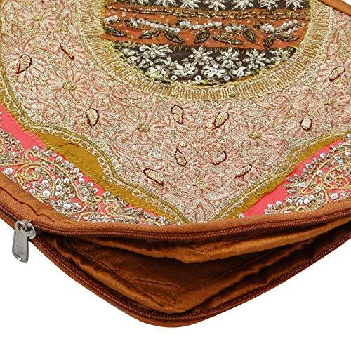 Perlen Mehrfarben Banjara Kasten Barren Patchwork Gestickte Laptop Ethnische 11 Bag handgemachte zBnCPgWE