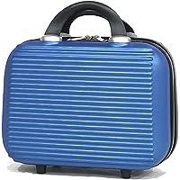 Valise Cabine/Moyen/Grande avec ou sans Vanity, Marque Française (Bleu - 5859, Vanity 13 Pouces)