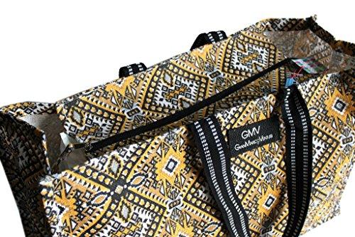 Borsa mare Gian Marco Venturi donna moda mare l.etnica 44351 giallo