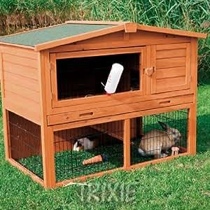 Large Trixie Natura Rabbit Hutch & Run Cage 123 cm: Amazon