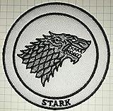 Game of Thrones Haus Stark Direwolf bestickt Tuch Eisen auf Patch