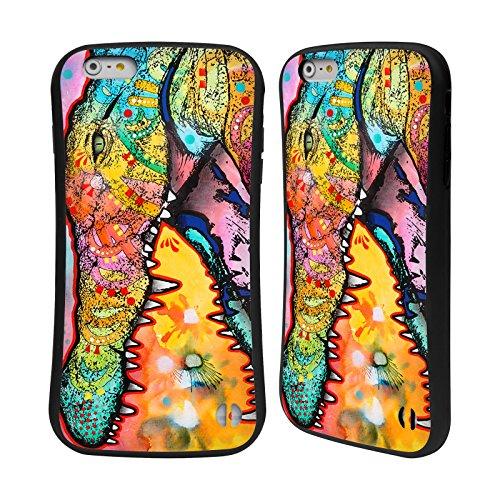 Ufficiale Dean Russo Falco Natura Selvaggia 3 Case Ibrida per Apple iPhone 7 Plus / 8 Plus Coccodrillo